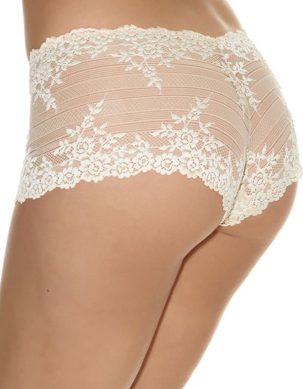Wacoal Embrace Lace Boyshort, Naturally Nude