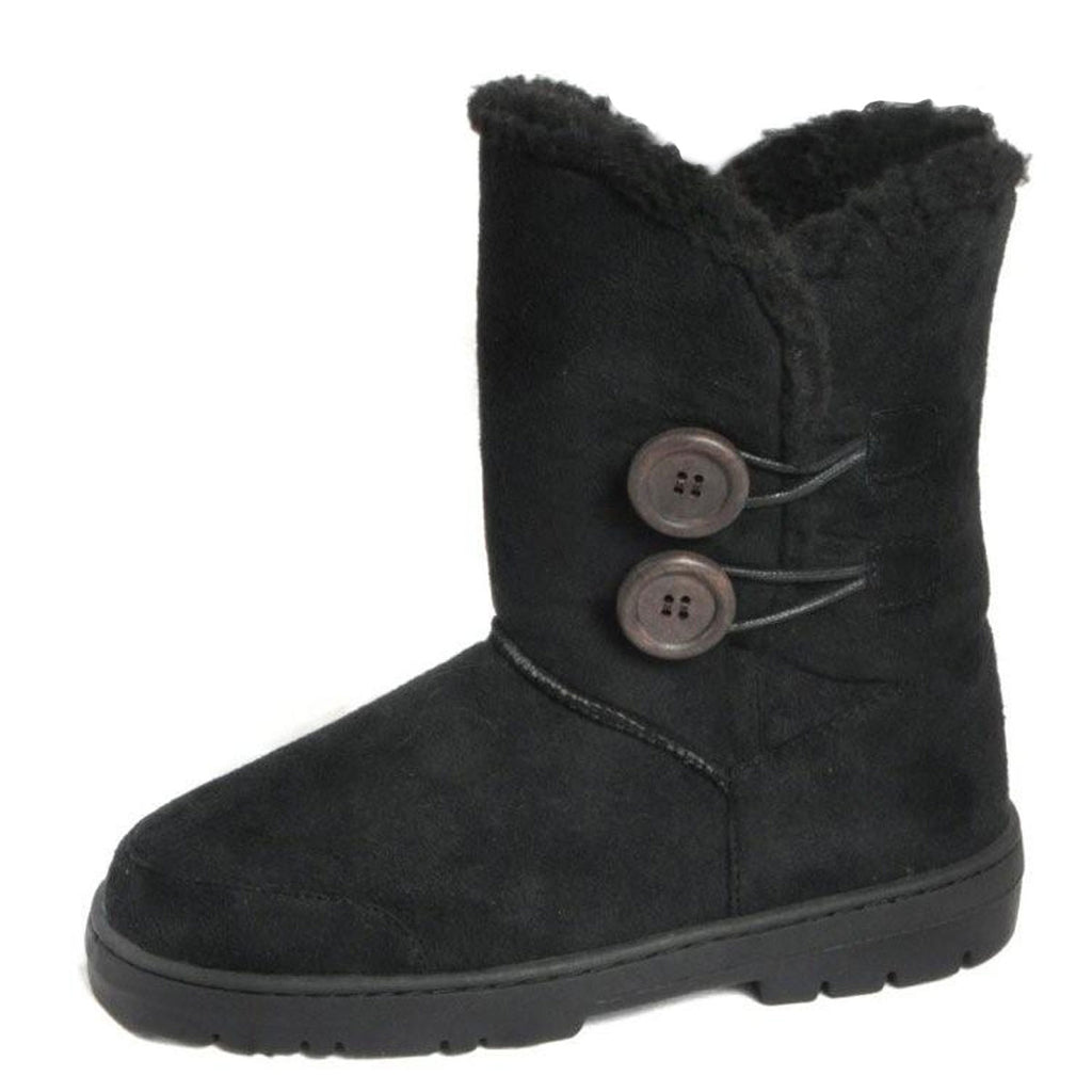 Ella Rita Winter Snow Boots, Black
