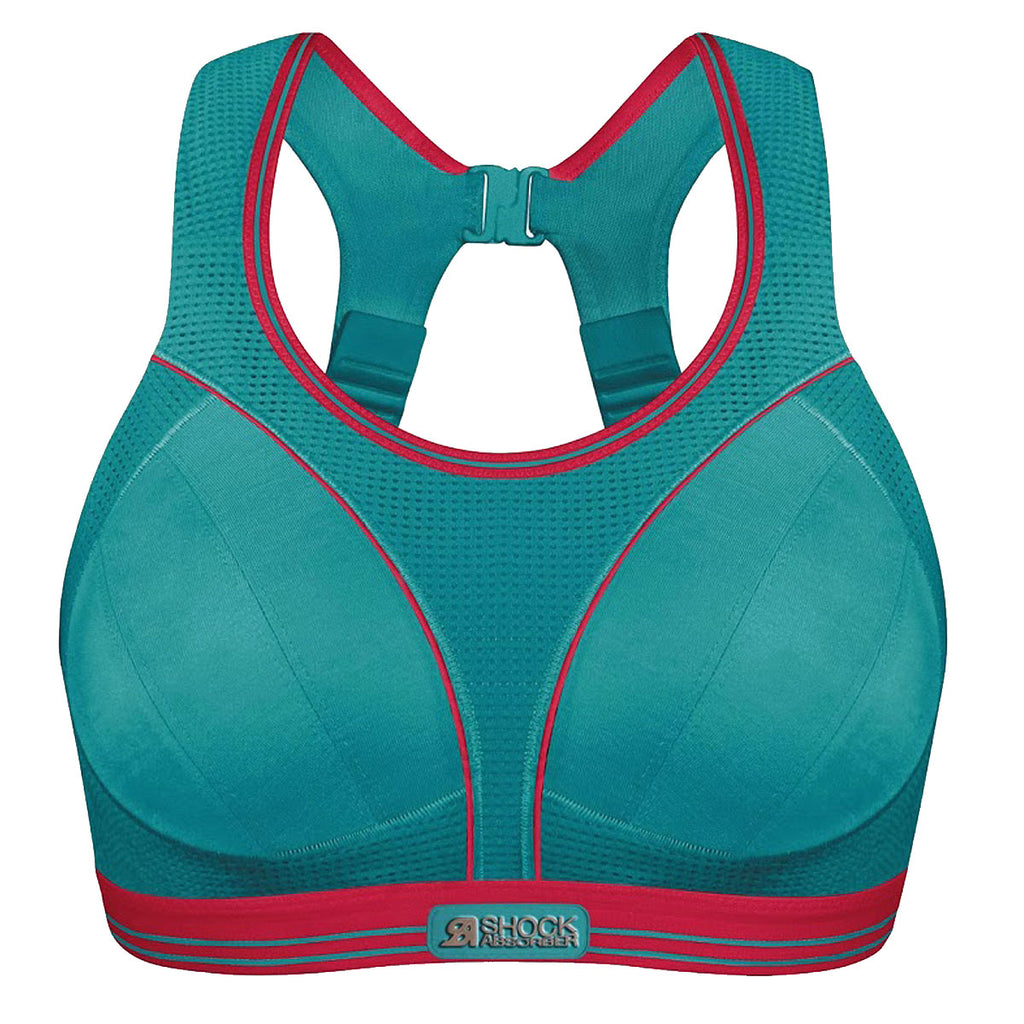 Shock Absorber Ultimate Run Bra, Aqua
