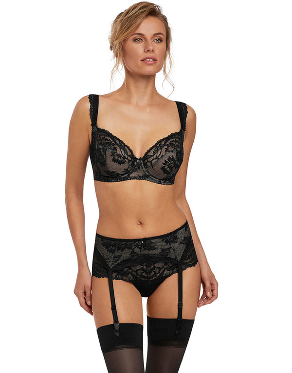 Fantasie Bronte Suspender, Black