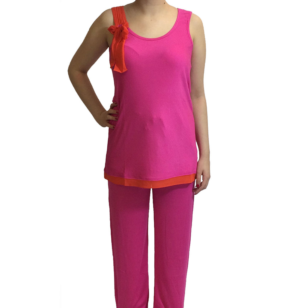 DKNY Tank and Pants, Pink