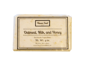Oatmeal, Milk, and Honey Soap