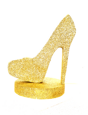 Gold Stiletto With Base