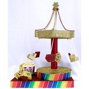 Large Carnival Swing Centerpiece