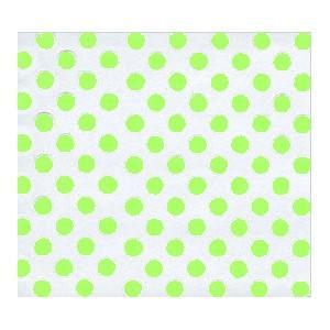 Green Dots Cellophane (20x20)