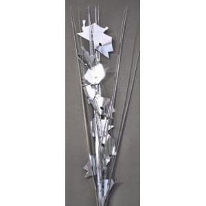 Silver Graduation Cap Spray