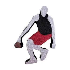 Basketball Dribbler (EPS Foam finished)