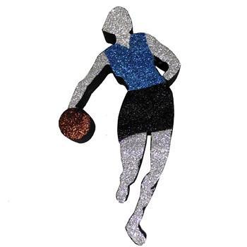 Female Basketball Dribbler (EPS Foam finished)