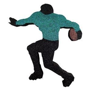 Football Runner (EPS Foam finished)