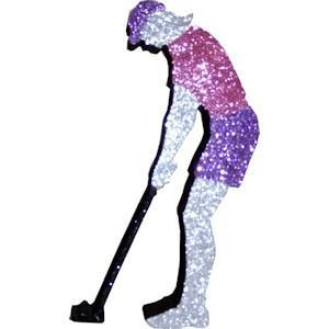Female Golfer (EPS Foam finished)