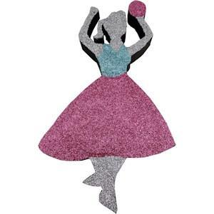 Foam Sock Hop Girl (EPS Foam - finished)