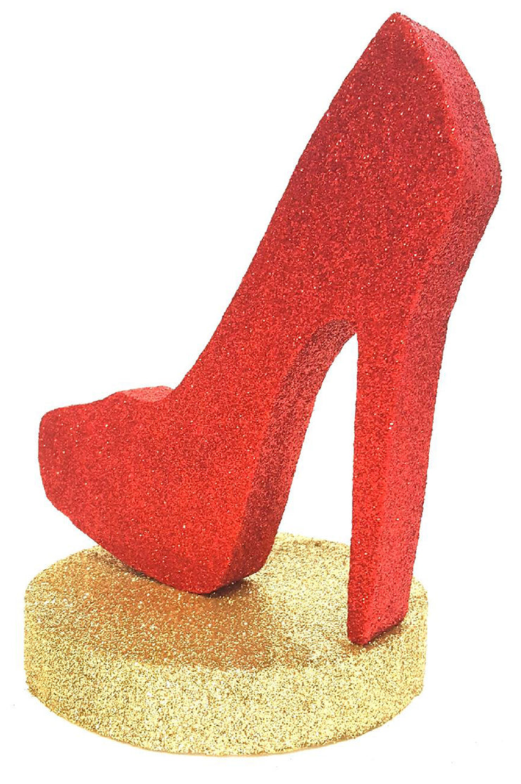 Red Stiletto With Base
