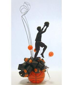 Basketball Star Player Centerpiece