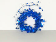 Royal Blue Star Garland