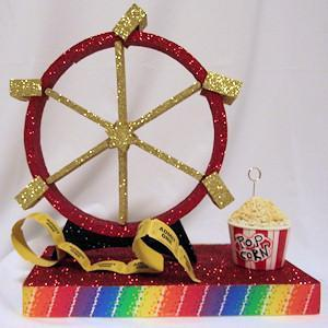 Carnival Wheel Centerpiece