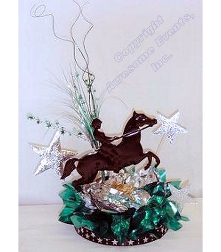 Equestrian Winning Star Centerpiece