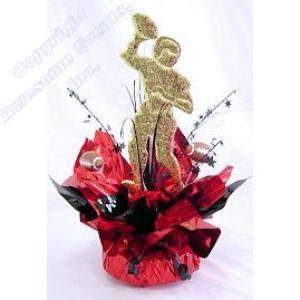 Football Quick Wrap Centerpiece