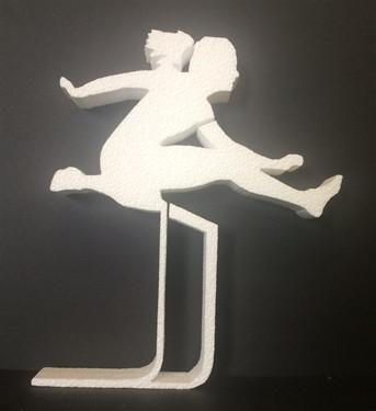 Female Hurdler (EPS Foam)