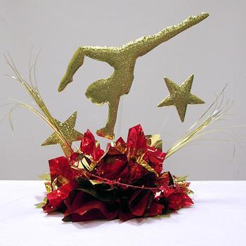 Gymnastics Star Centerpiece