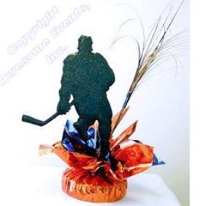Hockey Quick Wrap Centerpiece