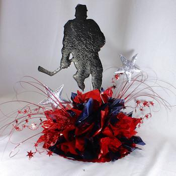 Hockey Star Centerpiece