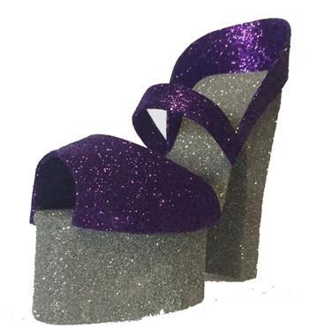 High Heeled Shoe Glitz