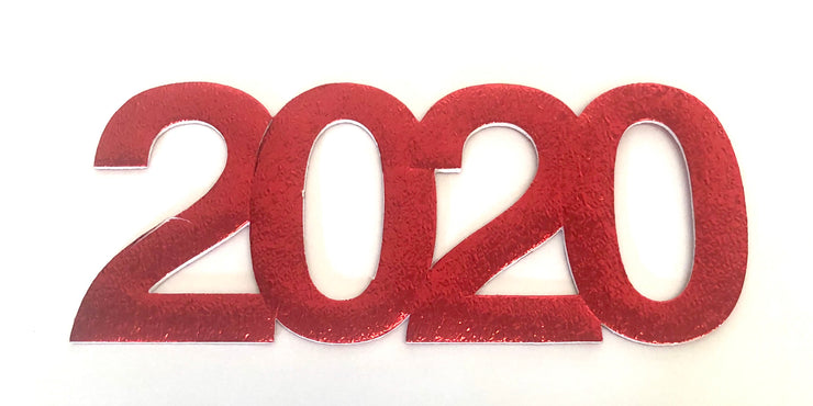 2020 Foam Board Cut Out