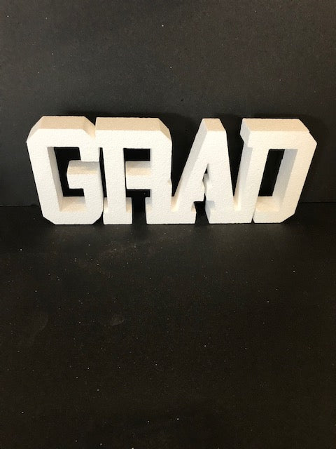 College Font Grad Cut Out