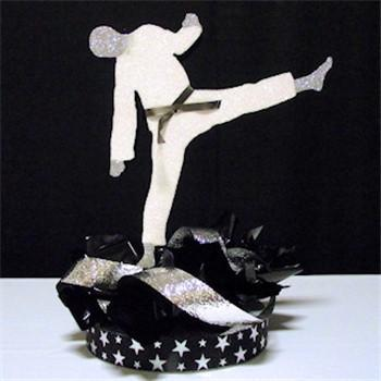 Karate Chop Centerpiece