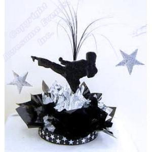 Karate Star Centerpiece