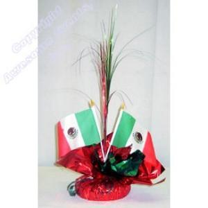 Flags of Mexico Centerpiece