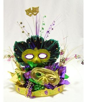 Mask Parade Centerpiece