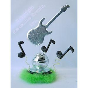Disco Rock Centerpiece