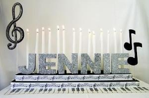 Music Candle Lighting Kit