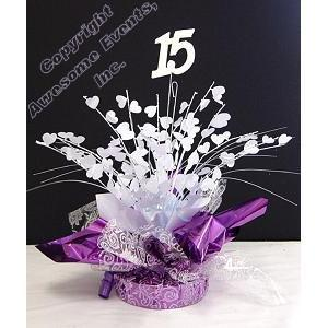 15th Heartburst Centerpiece