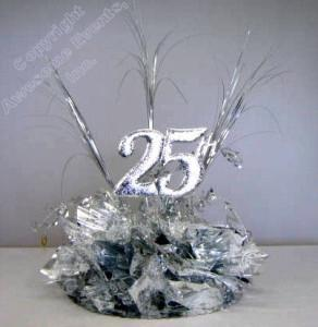 25 Years Together Centerpiece