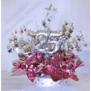 25th Recognition Centerpiece