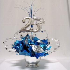 25th Milestone Centerpiece