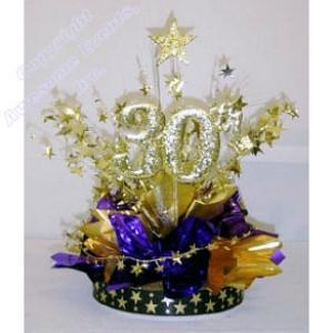 30th Recognition Centerpiece