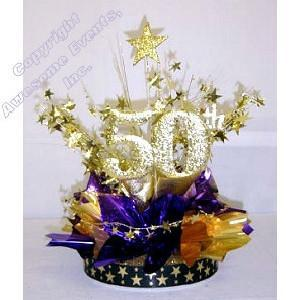 50th Recognition Centerpiece