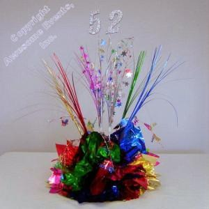 Party Time Any Year Centerpiece