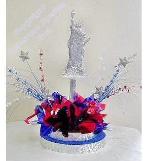 Liberty Island Centerpiece