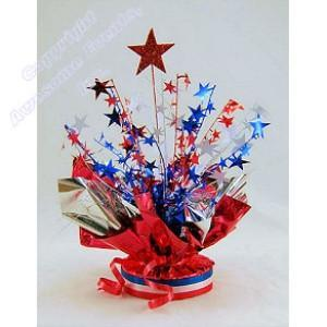 Patriotic Starburst Centerpiece