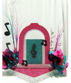 Juke Box Centerpiece