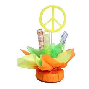 Retro Peace Centerpiece