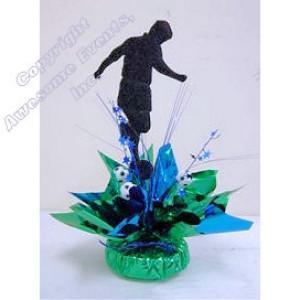 Soccer Quick Wrap Centerpiece