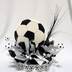 Soccer Have a Ball Centerpiece