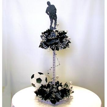 Soccer Having a Ball Centerpiece