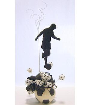 Soccer Star Player Centerpiece