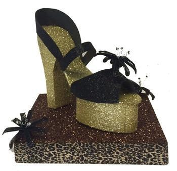 Shoe Glitz Centerpiece